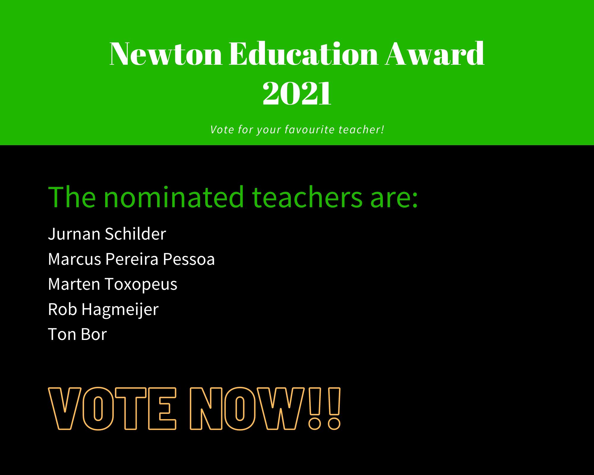 Nominations Education Award